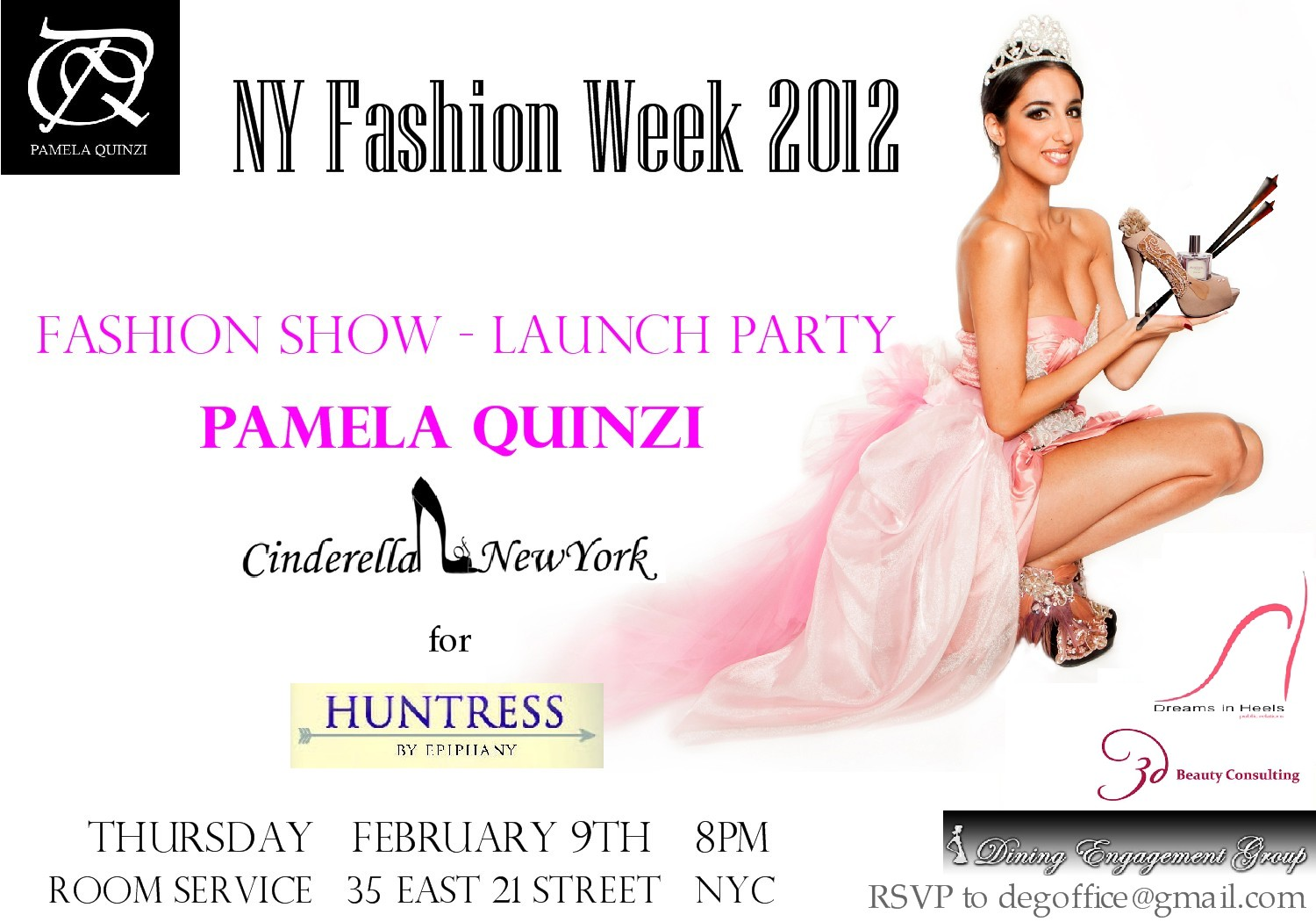 "NYFW 2012 Pamela Quinzi Fashion Show & Launch party of ""The ..."